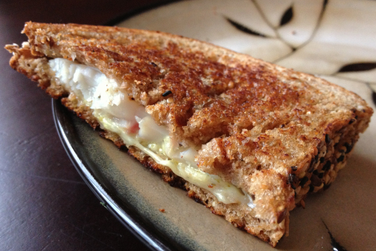 Tilapia Grilled Cheese