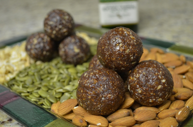 Dark Chocolate and Fig Balls